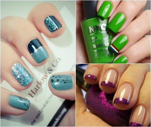 Модные цвета лака для ногтей зима 2013 – сочетание, палитра