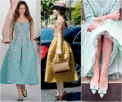 Модные платья на последний звонок 2013, стильные фасоны длинных и коротких платьев, фото