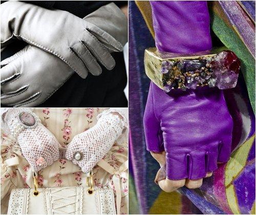 Модные женские перчатки весна-лето 2013, фото