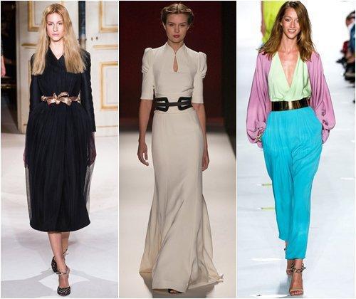 Модные женские ремни весна-лето 2013, стильные корсеты, фото