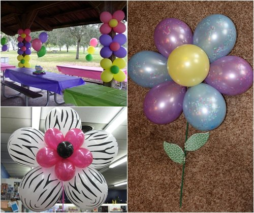 Цветы из воздушных шаров своими руками, инструкции, схемы, фото