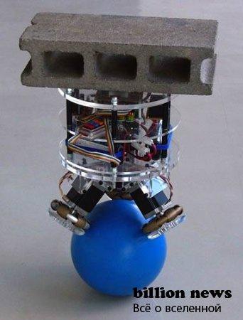 Робот на шаре: Балансирующий грузчик