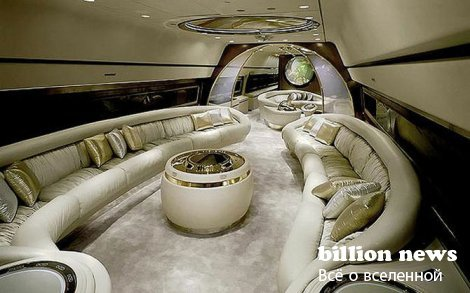 Интерьеры самолетов мировых лидеров (11 фото)