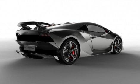 Концепт-кар Lamborghini Sesto Elemento (6 фото)