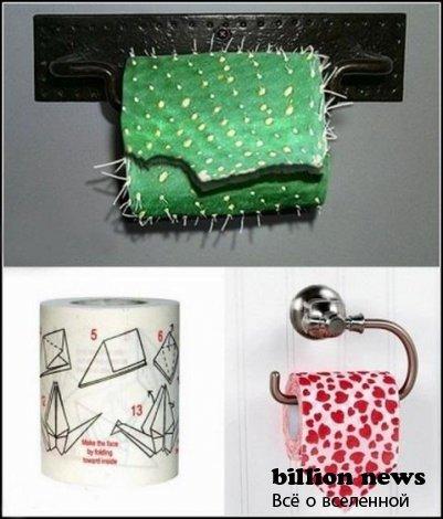 Самые интересные факты о туалетной бумаге