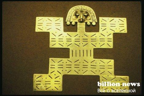 Ученый из Германии обнаружил золото майа