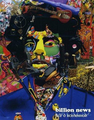 Картины из вещей Бернара Праса (20 фото)