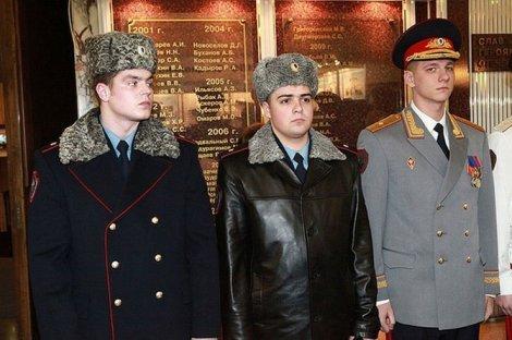 Новая форма российской ПОЛИЦИИ