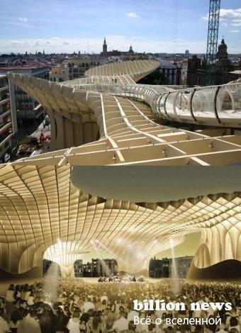 Самое большое сооружение из дерева (8 фото)