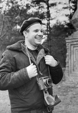 Жизнь Юрия Гагарина (12 фото)