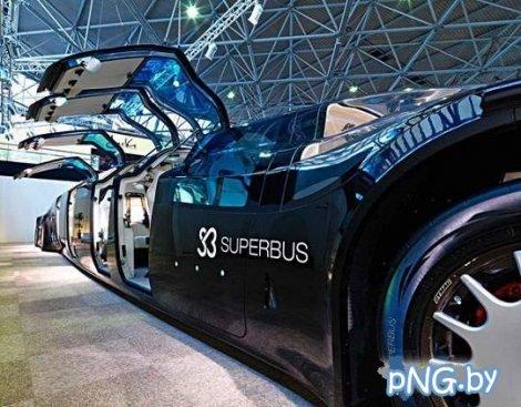 Самый дорогой автобус в мире (4 фото)