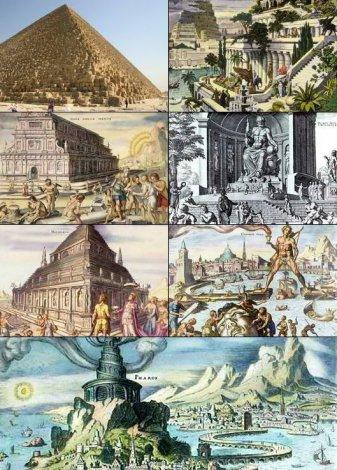 Интересные факты о семи чудесах света (8 фото)