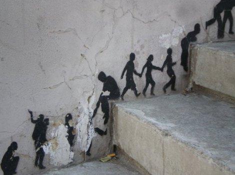 Самый уникальный уличный креатив (91 фото)