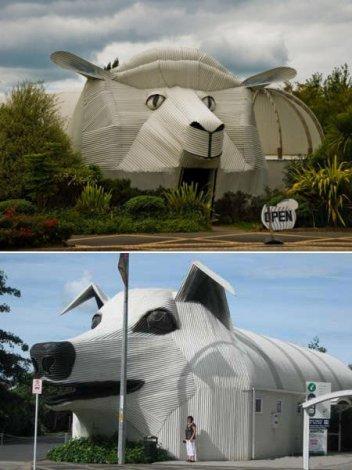 Самые необычные здания (4 фото)