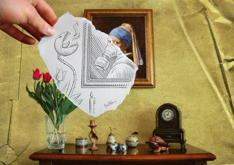 Необычайно удивительные картины карандашом (17 фото)