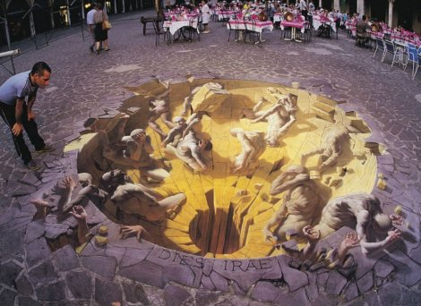 Уличный арт от Курта Веннера (17 фото)