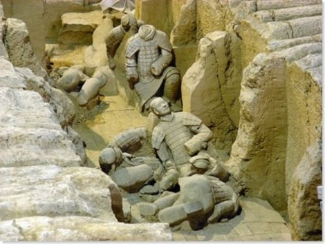 Терракотовая армия (22 фото)