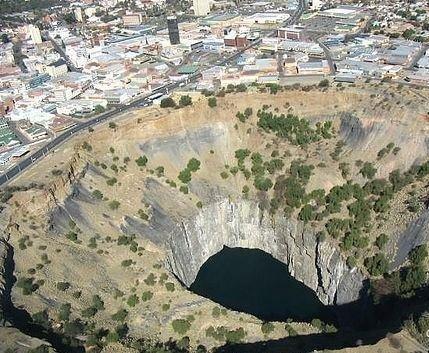 Самые большие дыры нашей планеты