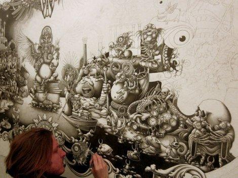 Рисунок шариковой ручкой (15 фото)