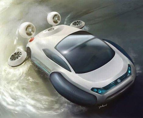 Автомобиль на воздушной подушке (6 фото)
