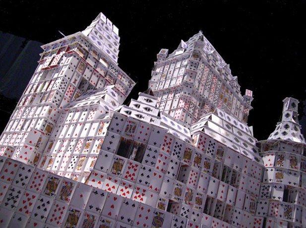 Карточные скульпторы от Брайана Берга (18 фото)