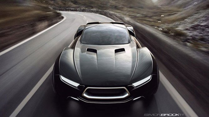 Ford для «Безумного Макса» (13 фото)