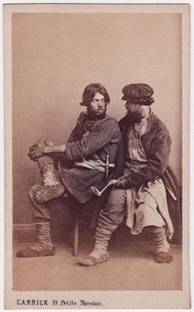 Крестьяне XIX века во всей красе (21 фото)