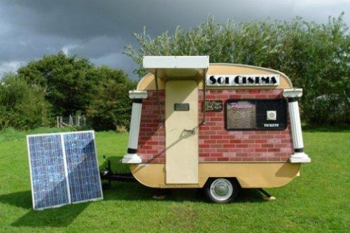 Самый маленький кинотеатр в мире