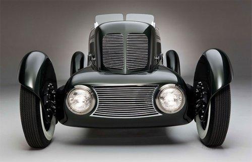 Автомобиль, сконструированный Эдселом Фордом (8 фото)