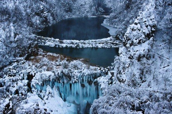 Плитвицкие озера (7 фото)