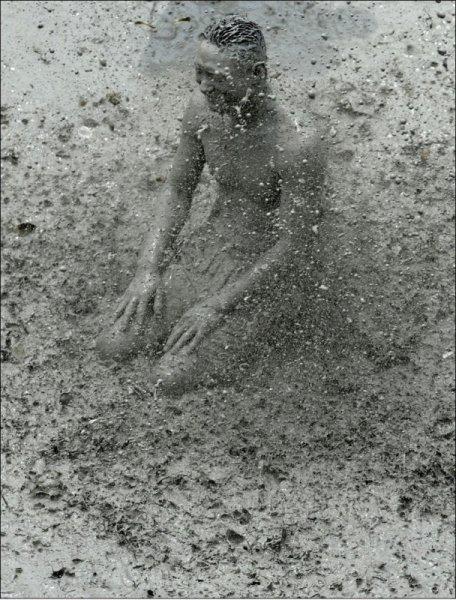 Фестиваль грязи в Южной Корее (22 фото)