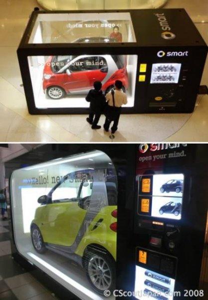10 самых необычных торговых автоматов (10 фото)