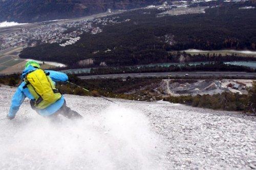 На лыжах по камням