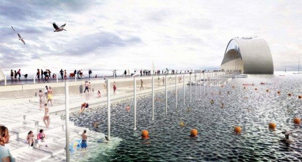 Проект набережной в Санкт-Петербурге (20 фото)