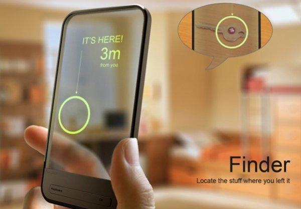 Концептуальное приложение «Finder» -найди потерянный предмет (2 фото)