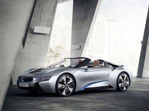 BMW i8 Spyder (10 фото)