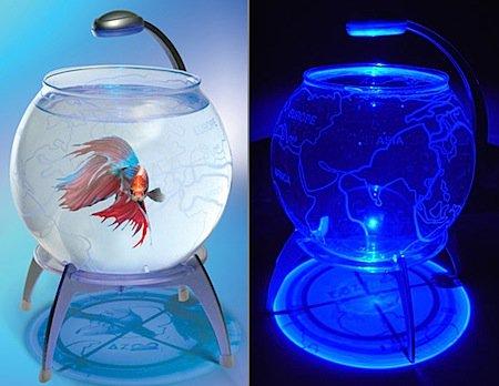 Стильные аквариумы (10 фото)