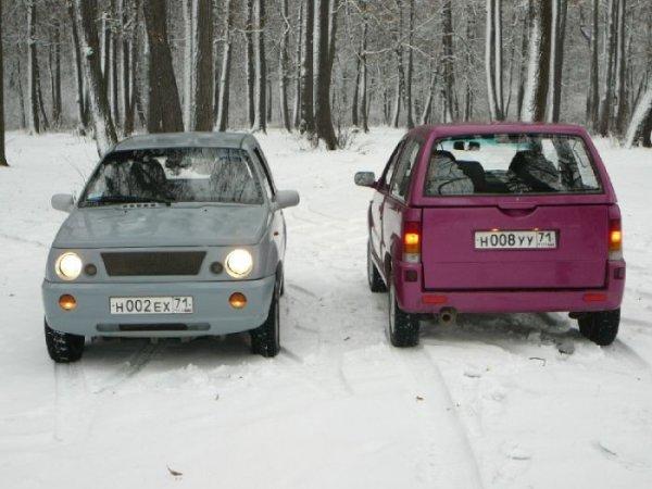 Новые бюджетные авто от завода ЗиЛ (10 фото)