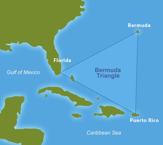 10 самых популярных теорий, объясняющих загадку Бермудского треугольника