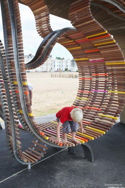 Креативная скамейка от Studio Weave (11 фото)