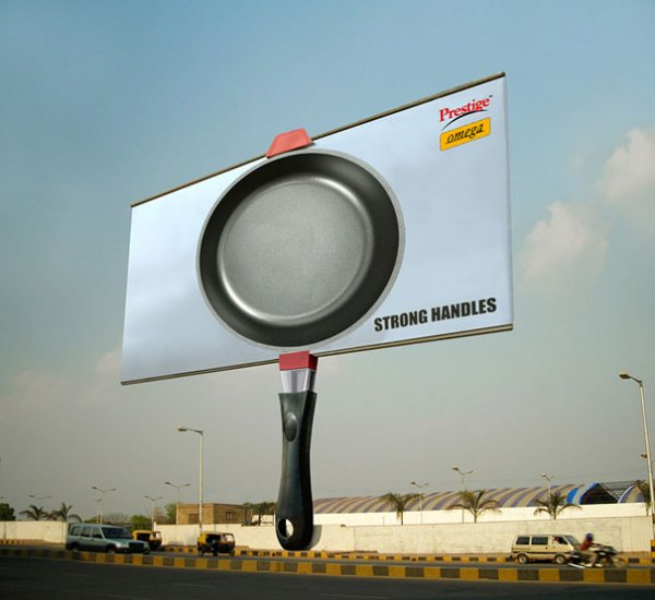 Креатив на рекламных щитах (42 фото)