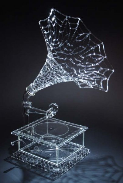 Стеклянные скульптуры Роберта Миклесена (11 фото)