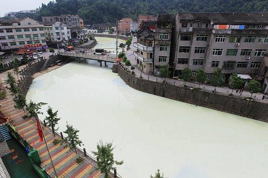 Молочная река в Китае (6 фото)