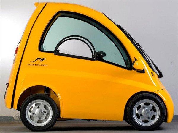 Дизайн необычных городских автомобилей (10 фото)