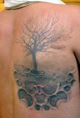 3D татуировки (13 фото)