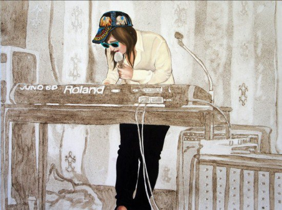 Эллисон Кортсон создает картины из пыли (8 фото)