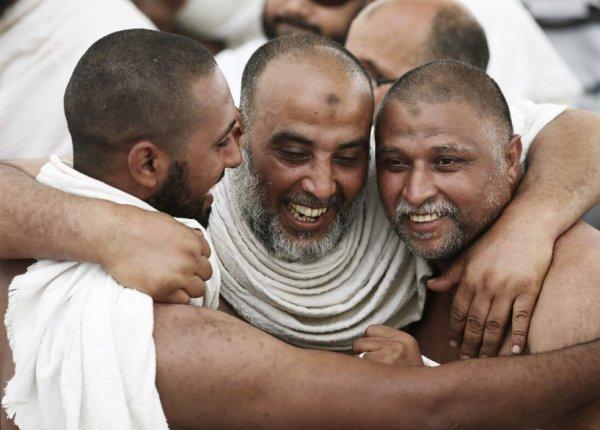 Ежегодное паломничество в Мекку (26 фото)