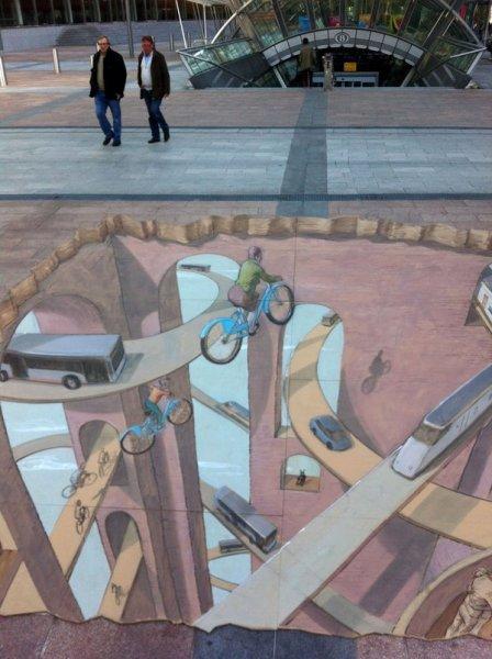 Уличный арт от Эдуардо Релеро (Eduardo Relero) (19 фото)