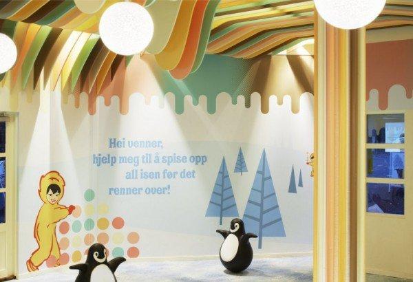 Ice Cream Castle «Замок мороженого» в Норвегии (7 фото)