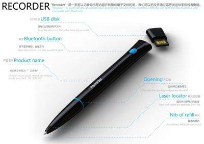 Recorder Pen: ручка, превращающая рукописный текст в печатный